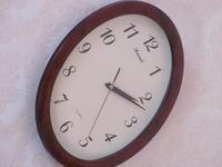 обои и часы